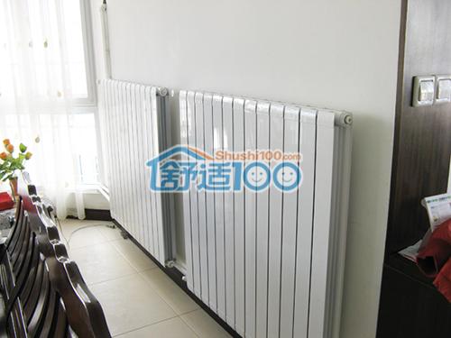 家用暖气片安装效果图