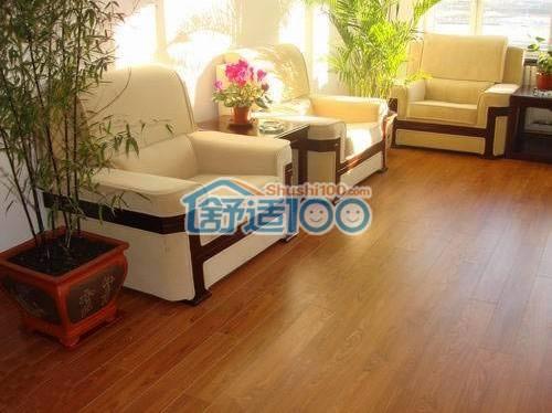 复合木地板安装效果图