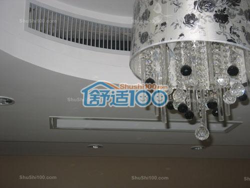 中央空调出风口,巧妙利用原型吊顶