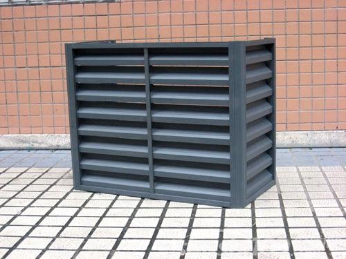 外墙空调百叶窗—外墙空调百叶窗如何设计安装
