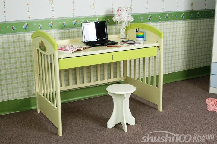 经过自己动手改装的婴儿床