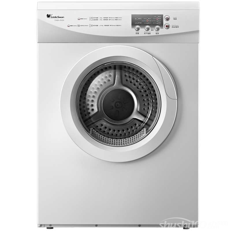 小天鹅干洗衣机 2014年进行的一项调查数据显示,超过80%的中国消费者日常都会通过洗衣机完成衣物的清洗工作。但是与之对应的,有超过90%的用户表示一直都习惯于通过自然晾干来处理洗完的衣物,使用机器烘干衣服的人群比例不到6%。而在发达国家这种情况却恰恰相反,绝大多数消费者都是通过专门的干衣机使衣服干燥,在户外晾晒衣服只是极少数的情况。