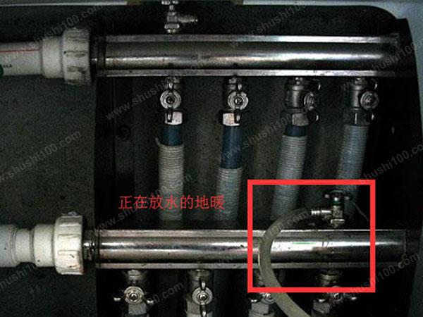 地暖回水管放水就热不放就凉-我家地暖回水管很凉