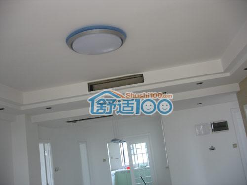 中央空调吊顶施工现场