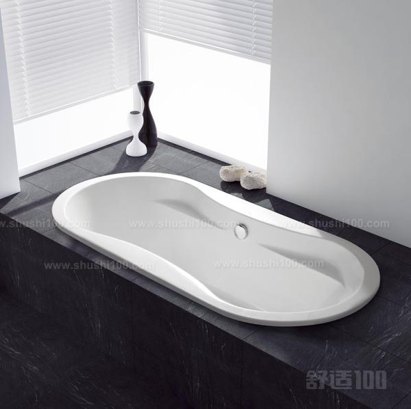当时浴缸大多为长方形