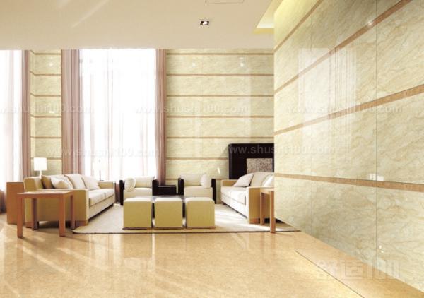 客厅要贴瓷砖吗—客厅墙面贴瓷砖好不好图片