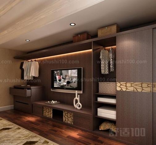 客厅衣柜电视柜一体 客厅衣柜电视柜一体的选购技巧