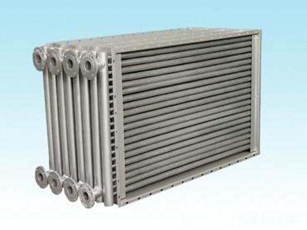 空气之间的热交换;在集中空调制冷机组中,利用热管换热器口收废气余热