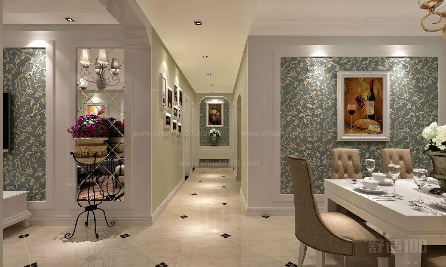 过道装饰墙 过道墙壁主装饰设计方案图片