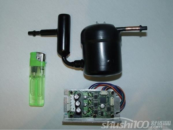 冰箱空调是由四大件组成:压缩机