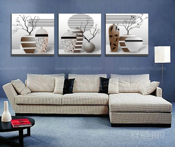 沙发背景三联画——安放位置和安装方法介绍