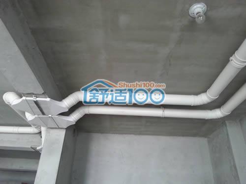 烟台天越湾中央空调新风系统安装工程-成就恒温恒氧的海景房