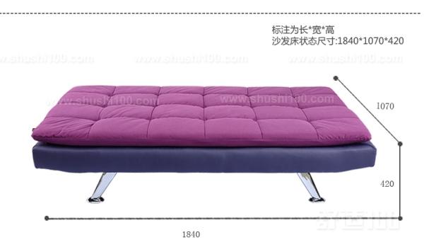 折叠沙发床安装—选购合适的沙发床