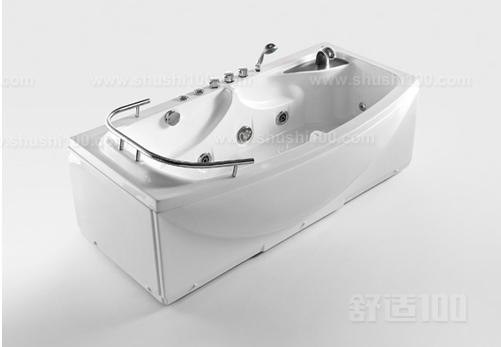 浴室木桶的尺寸标注示意图