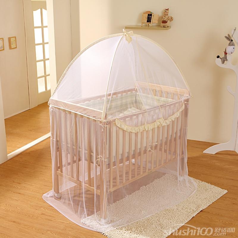 婴儿床蚊帐怎么挂—婴儿床蚊帐防蚊安装技巧