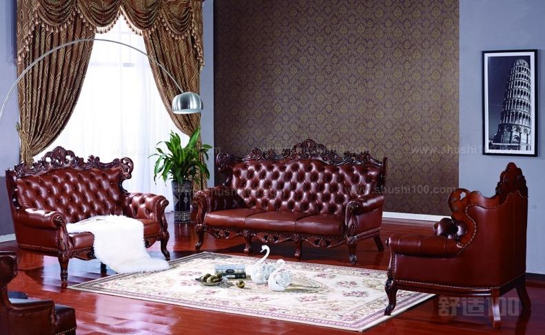 欧式皮沙发应用知识介绍—欧式沙发搭配及保养方法
