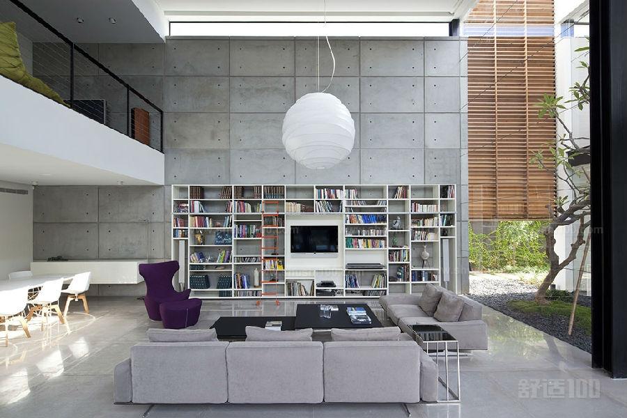 客厅书柜 客厅书柜的设计潮流