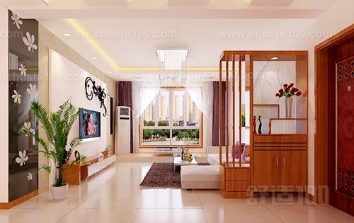 玄关就是一家房子客厅和大门之间的位置,通常为了不让门外的人直接看