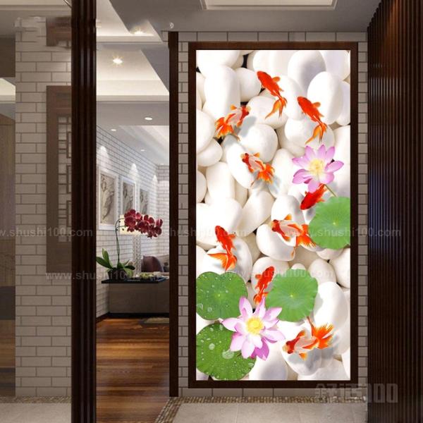 竖立玄关壁画 竖立玄关壁画样式和摆放方法