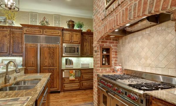 农村厨房灶台设计—农村厨房灶台设计需要避免的事项图片