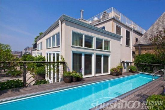 屋顶游泳池 什么房子适合建屋顶游泳池