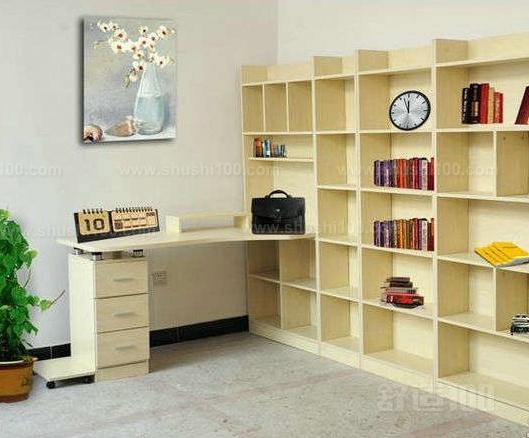 转角书桌带书柜 转角书桌书柜组合优秀品牌推荐