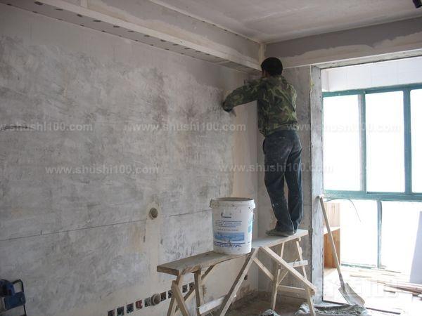 墙面直接刷涂料_墙面基层是什么—墙面基层处理步骤介绍 - 舒适100网
