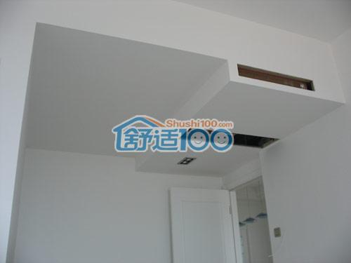 出风口隐藏于室内吊顶中,便于后期装修