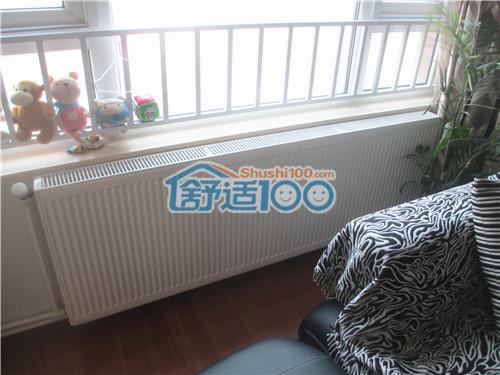 武汉暖气片安装工程案例-保利心语德美拉得暖气片安装实景