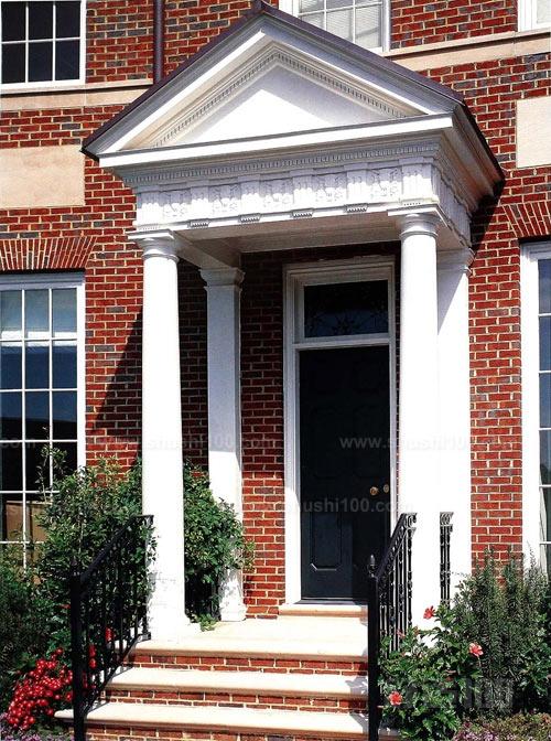美式别墅大门—美式别墅大门的材质及风水