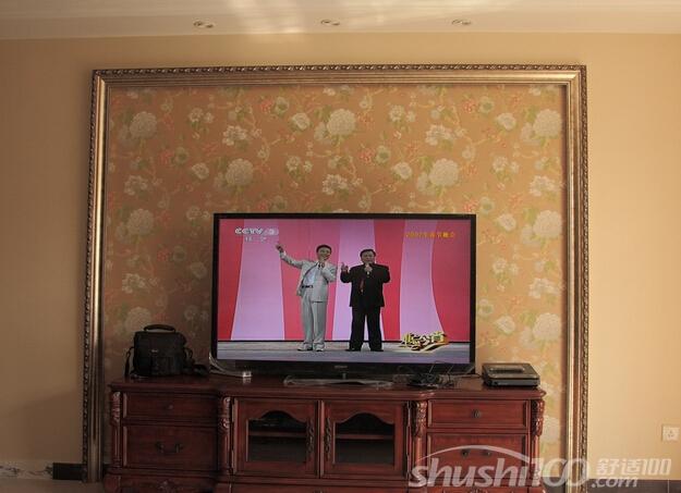 美式电视墙墙纸—美式电视墙墙纸相关知识介绍图片