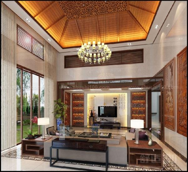 别墅客厅装饰柜—提升客厅收纳空间小帮手