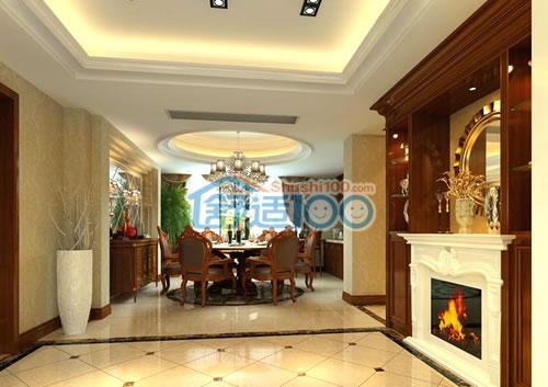 客廳空調安裝位置選擇-客廳中央空調安裝位置圖片展示