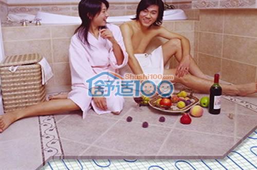 卫生间采暖设备哪种好-浴霸暖气片地暖大pk