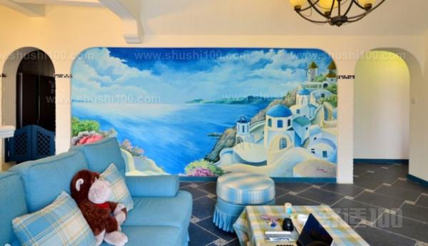 手绘墙也不是很贵,消费价格适中,在房子里面任你选择地方来画.