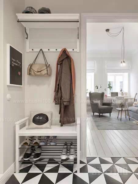 北欧风鞋柜设计—北欧风鞋柜怎么进行设计?图片