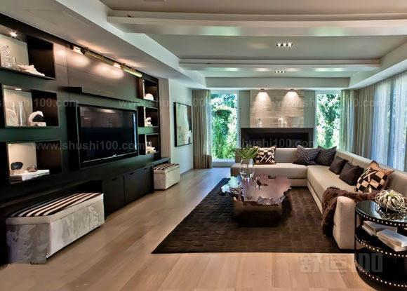 柜式电视背景墙——设计安装的三大步骤