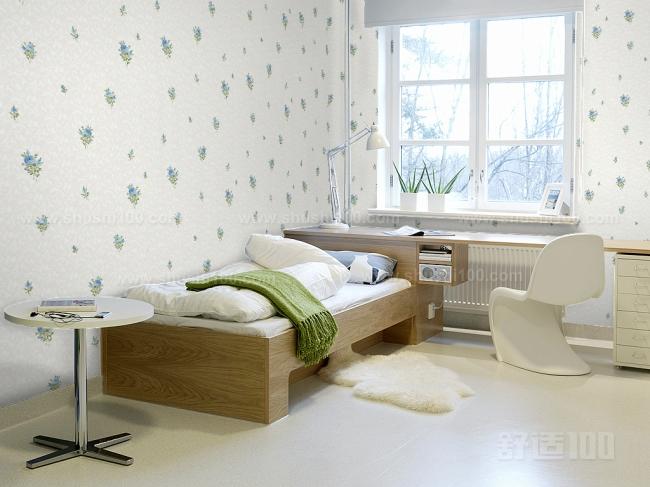 好看的卧室墙纸 好看的卧室墙纸类型及选择方法图片