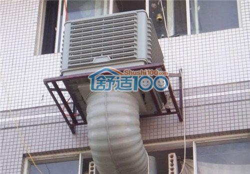 家用水空调安装示意图-水空调日程维护方法 所有的机械产品都要注意日