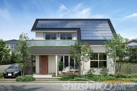 太阳能屋顶就是在房屋顶部装设太阳能发电装置,利用太阳能光电技术在