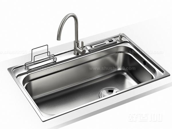 厨房刀架水槽安装—台下盆