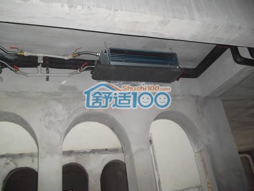 武汉保利十二橡树地源热泵、新风、净水集成安装工程