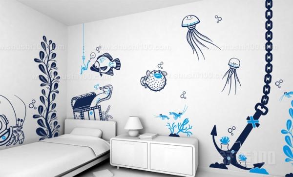 儿童手绘墙—儿童手绘墙的设计绘制和搭配