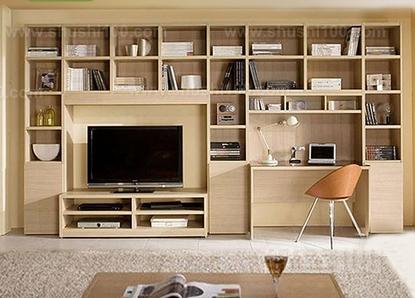 书柜电视柜一体—不能忽视高度与尺寸