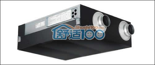 松下全热交换器的工作原理-松下全热交换器与普通新风对比