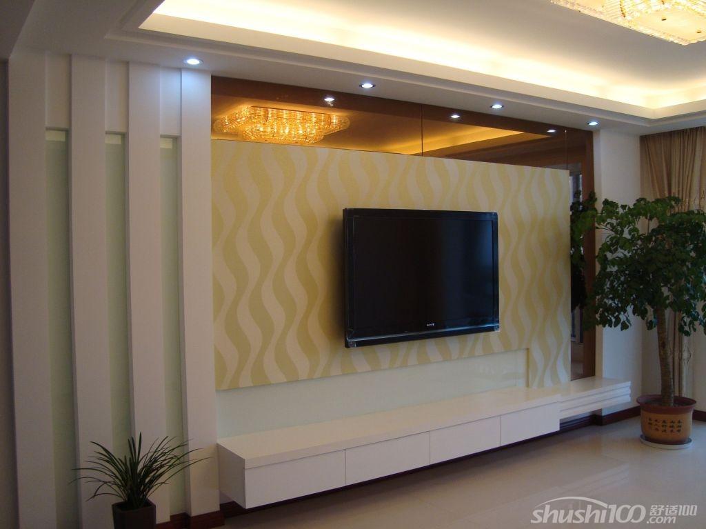 工艺流程: 电视背景墙制作有多种方法,如石膏板造型,铝塑板,马来漆