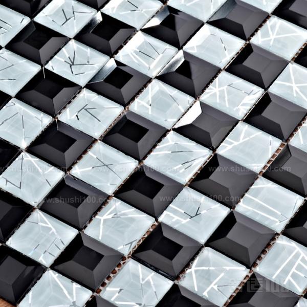黑白马赛克图片