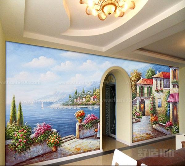 那么地中海手绘墙画怎么绘制呢?