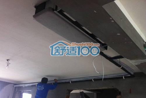 风管机安装示意图-风管机安装图展示