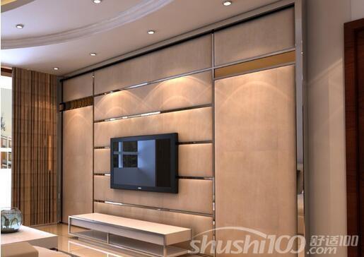 风格的欧式电视背景墙隐形门应该如何设计才能融合家居整体风格体系.